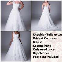 bride & Co wedding dress