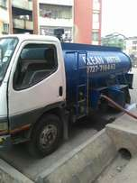 Clean soft drinking water