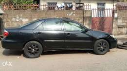 Clean Black Toyota Camry 02/03