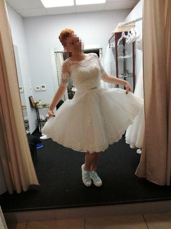 Suknia ślubna Krótka Rybnik Olxpl