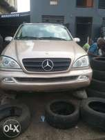 Direct tokunbo Mercedes Benz ML320 with full