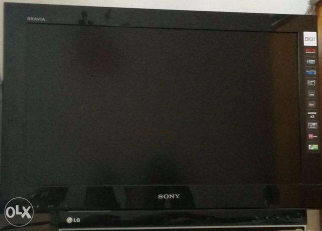 sony bravia tv and LG DVD for sale Kikuyu T-Ship - image 1