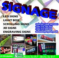 Advertise your business(signs)