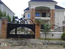 Lovely Detach Duplex+Swimm pool at Map Global Estate Gwarimpa Abj 120m