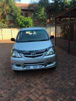 Toyota Avanza 1.3 7 seater. Very good condition with very low mileage