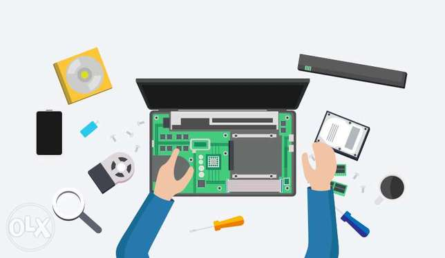 Computer Hardware and Software solutions with second hand PC, Laptop B المطار القديم -  3