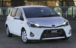 Replacement parts available for Toyota Yaris 12- Prices from R100.00