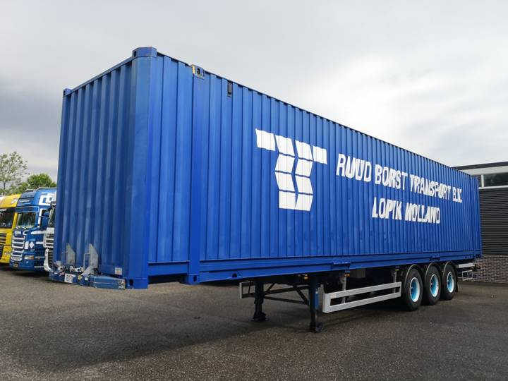 Groenewegen 45 CC 12-27 3-assen BPW-ecoplus + 45FT Container Hi Cube ... - 2002