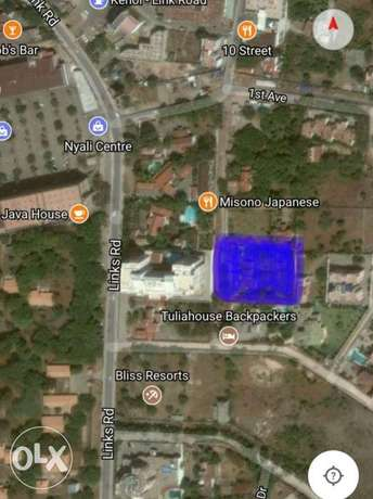 Half acre in nyali for sale. 40m Nyali - image 1