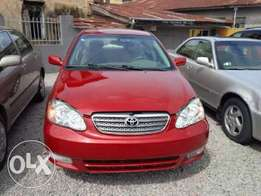 Toyota corolla available for sale 2004 model