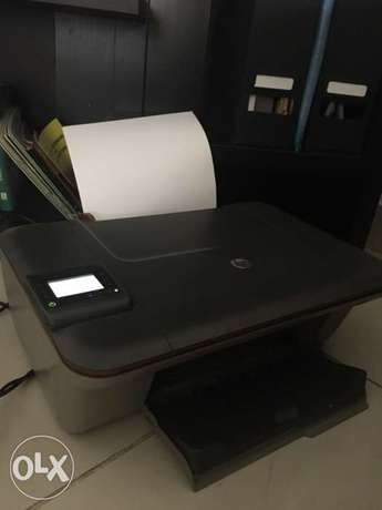 HP Deskjet printer 3050a with working black and color cartridges