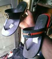 Handmade female gucci slippon