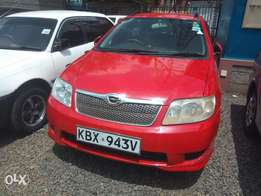 Toyota Fielder KBX registration clean fully loaded 40th anniversary