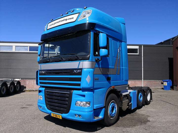 DAF FTG XF105-460 6x2/4 SuperSpaceCab - Manual Gearbox - Stan... - 2013