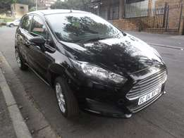 2014 Black Ford Fiesta 1.4 hatch for sale