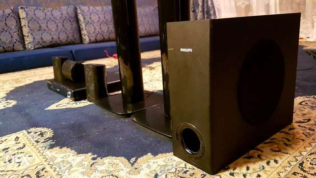 PHILIPS 5.1 Home theater HTS3530 with extra wire(extension) hi