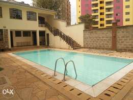 3 bedroom plus dsq for rent in kileleshwa
