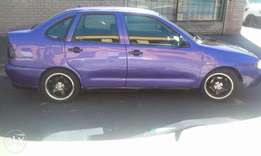 polo classic fuel injection... powersteering...rims