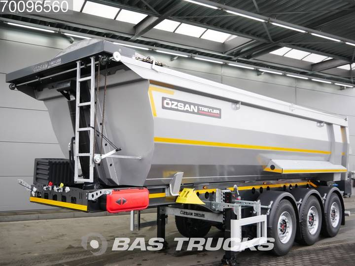 Ozsan 24m3 Stahlkipper 2x SAF Liftachse WABCO - 2019 - image 2