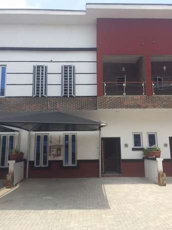Newly built luxury 4 bedroom semidetached duplex with BQ for rent Ibeju - image 1
