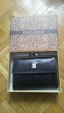 3829b4c4562bd Portfel damski Decuero (nowy) - Bydgoszcz - Mam do sprzedania nowy portfel  damski Decuero