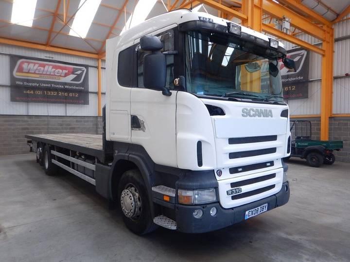 Scania R310 26 TONNE 6 X 2 FLATBED - 2008 - CX08 DBY - 2008