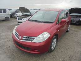 NISSAN / TIIDA CHASSIS # C11-3260 year 2010