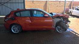 bmw f20 116i stripping 4 spares