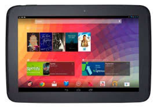 Samsung nexus tablet 10 inch with a charger it has a flash light good Kempton Park - image 1