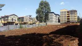 1/4 acre in Kinoo Muthiga good for apartment.