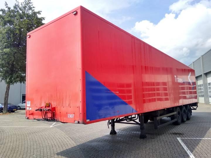 Pacton 3-Assige Boxtrailer / Liftas / BPW - 1999