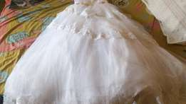 Neat bridal gown