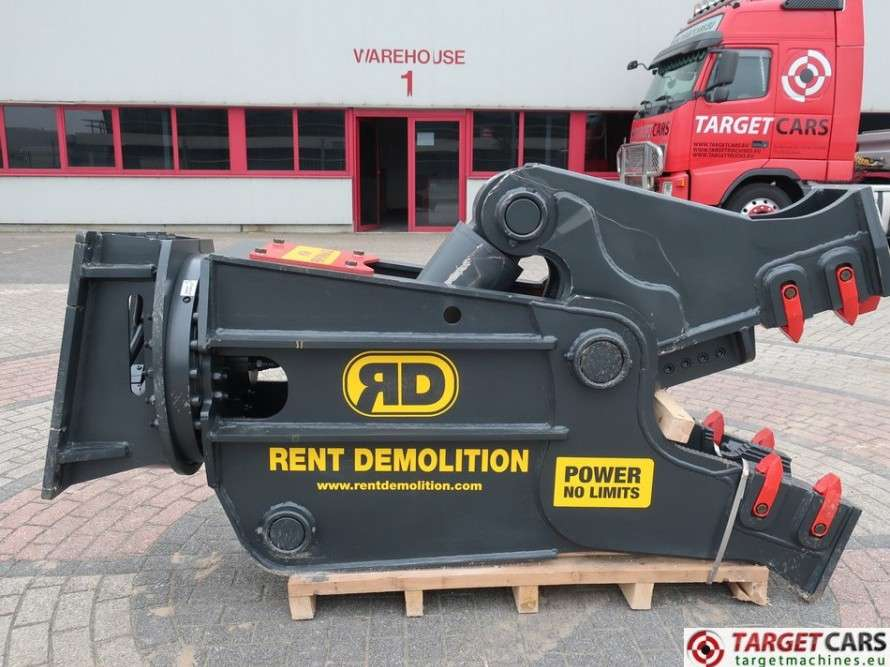 Rent Demolition  RD20 Hydr.Rot.Crusher Pulverizer Shear 2...
