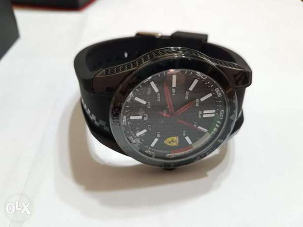 Ferrari black watch