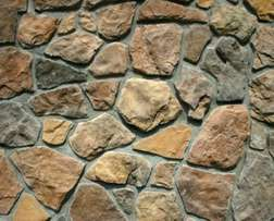 All types of stone walls