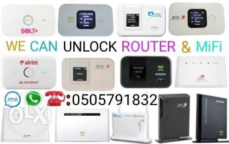 Wifi Router & MiFi Unlocking Open-Line.