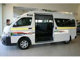 Staff Bus From Soweto To Riley Road Office Park