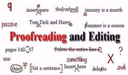 Editing, Proofreading And Transcription