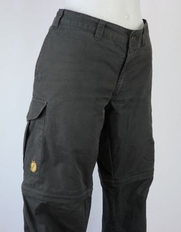 Fjallraven Karla Zip Off spodnie trekkingowe myśliwskie (42