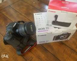 Canon Eos 7d with all accessories