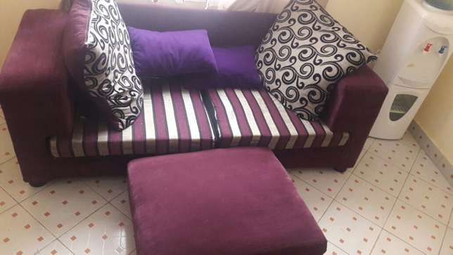 Classic sofa with a pouf. South B - image 5