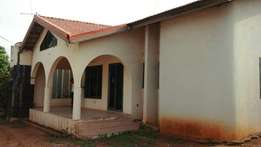 4 bedroom house plus 3 uncompleted stores with title at Gbawe
