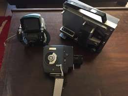 Old Video recorder and projector