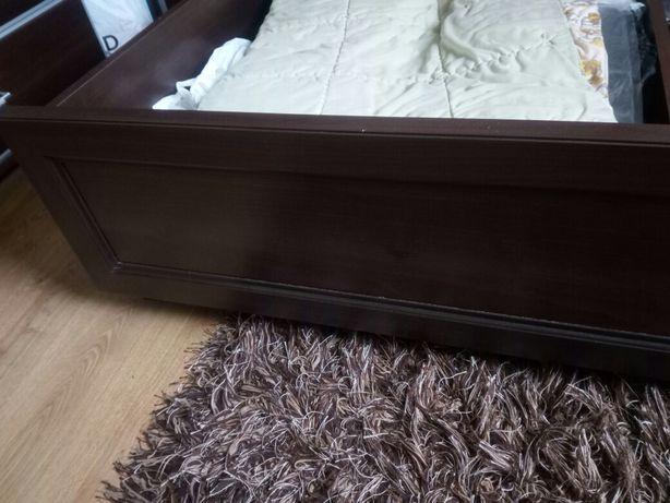 Duże łóżko Z Materacem 160x200 Grenada Bodzio Chodzież Olxpl