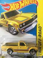 Hot Wheels Datsun 620 yellow