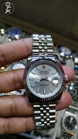 Rolex Date just for ladies full silver 36 mm