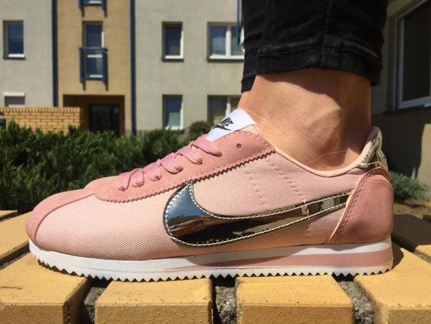 wspaniały wygląd duża zniżka najwyższa jakość Nike Cortez Rozmiar 40 / kolor Pudrowy , złote logo. Damskie ...