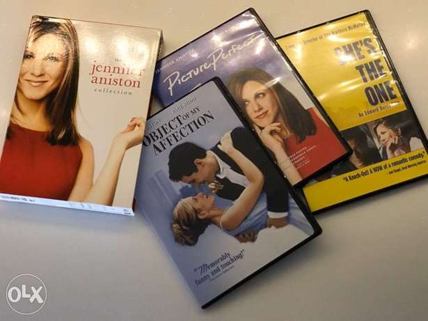 Jennifer Aniston Original DVDs in 3 single packs