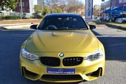 2014 Bmw M4 Coupe in very good condition