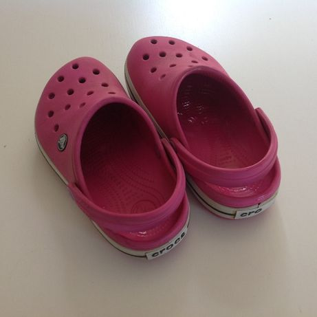 Nowa kolekcja rozmiar 7 kupować tanio CROCS Crocsband J1 fuksja bdb Bojano • OLX.pl